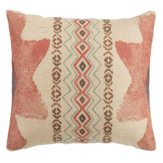 PL1816: HEA Sedona PK End Star Pillow, 11x19