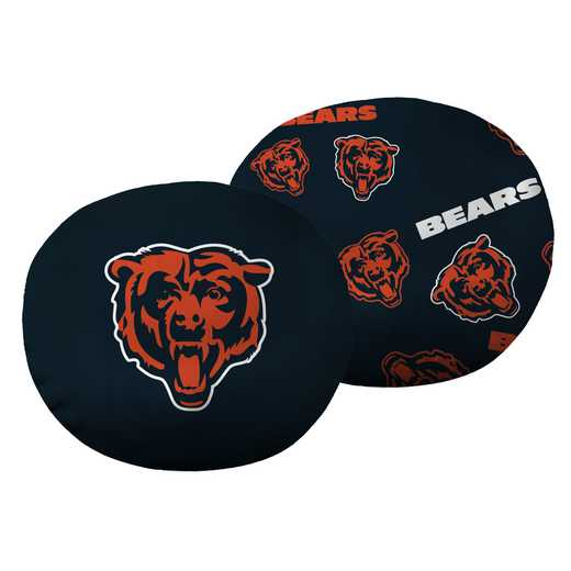 "1NFL139000001RET: NW NFL Bears 11"" Cloud Pillow"