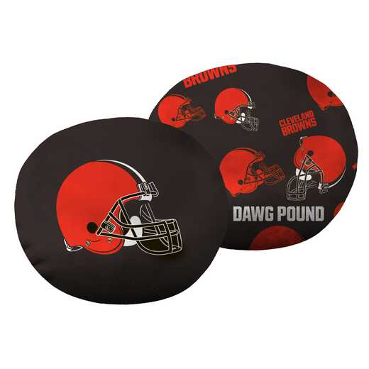 "1NFL139000005RET: NW NFL Browns 11"" Cloud Pillow"