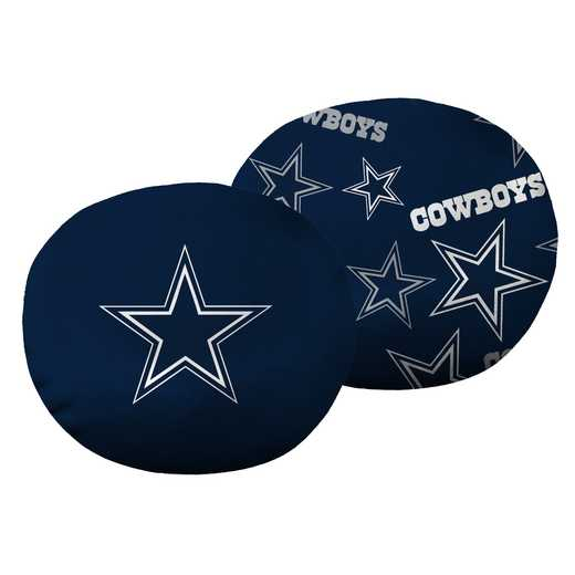 "1NFL139000009RET: NW NFL Cowboys 11"" Cloud Pillow"