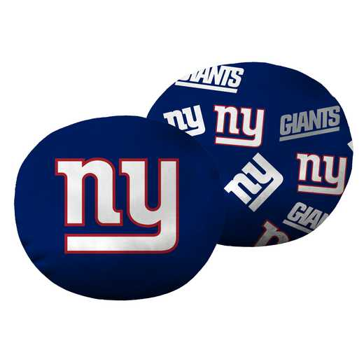 "1NFL139000081RET: NW NFL NY Giants 11"" Cloud Pillow"