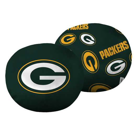 "1NFL139000017RET: NW NFL Packers 11"" Cloud Pillow"