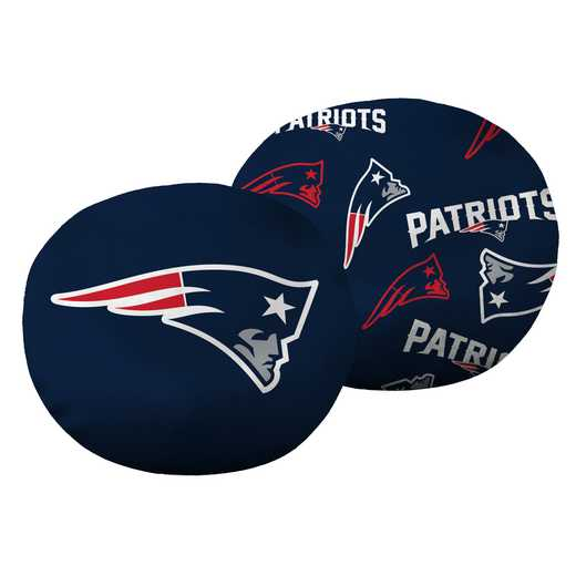 "1NFL139000076RET: NW NFL Patriots 11"" Cloud Pillow"