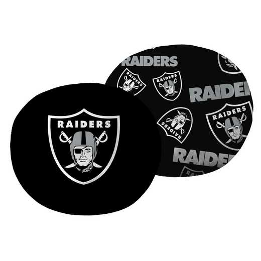 "1NFL139000019RET: NW NFL Raiders 11"" Cloud Pillow"