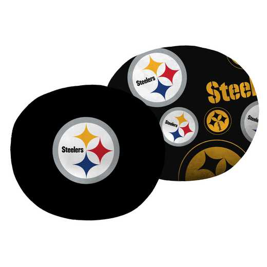 "1NFL139000078RET: NW NFL Steelers 11"" Cloud Pillow"