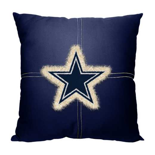 1NFL142000009RET: NW NFL Cowboys Letterman Pillow