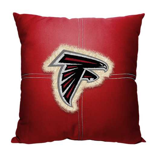 1NFL142000012RET: NW NFL Falcons Letterman Pillow