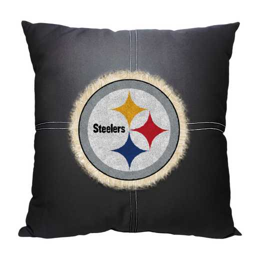 1NFL142000078RET: NW NFL Steelers Letterman Pillow