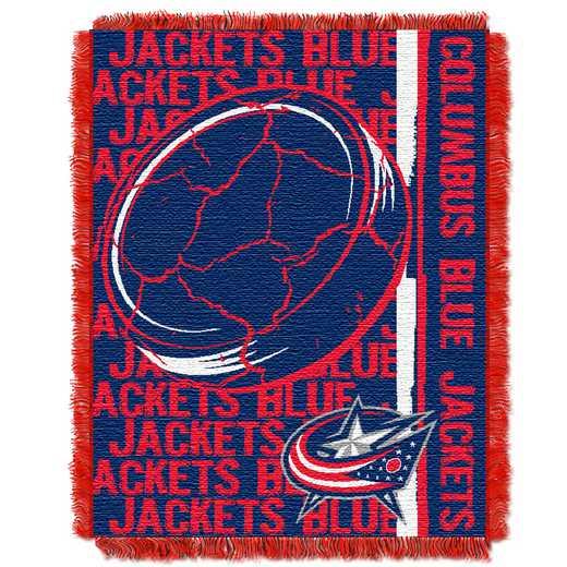 1NHL070100031RET: NHL 0701 Blue Jackets Jersey Raschel