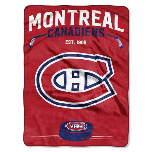 1NHL680010012RET: NHL 680 Canadiens Inspired Raschel