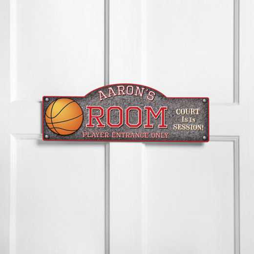 GC749 HOOPS: JDS THEMED ROOM SIGN HOOPS-PERS