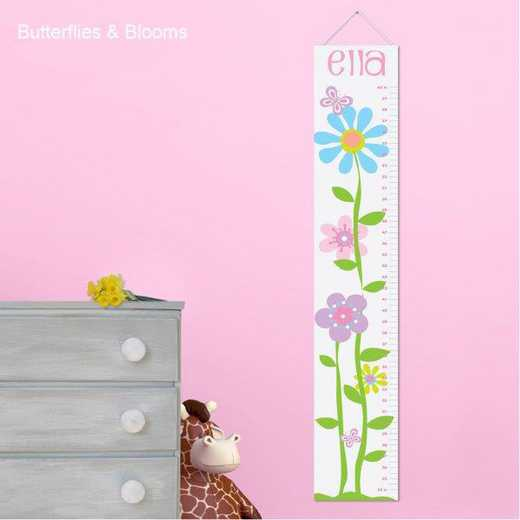 GC925 BLOOMS: JDS KIDS BLOOM GROWTH CHART-PERS