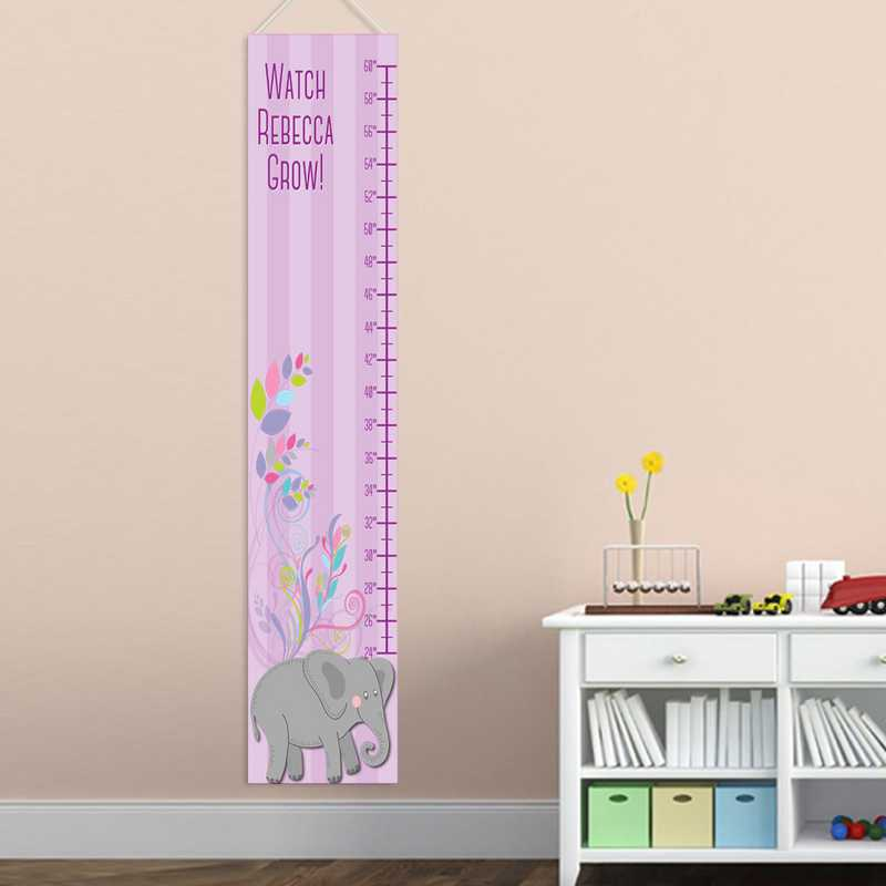Personalized Height Charts For Girls Personalized Girls Growth Chart