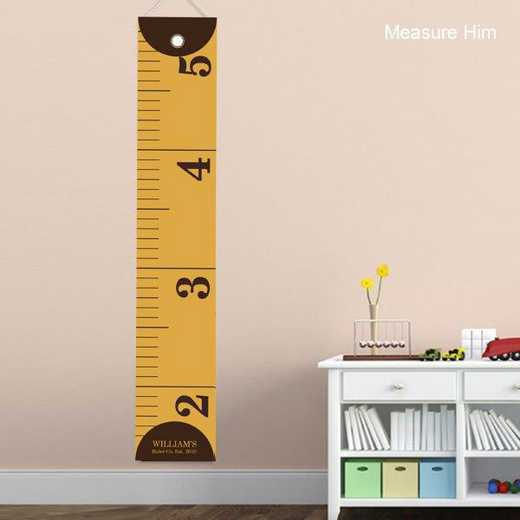 GC925 MEASUREHIM: JDS YELLOW RULER HEIGHT CHART PERS