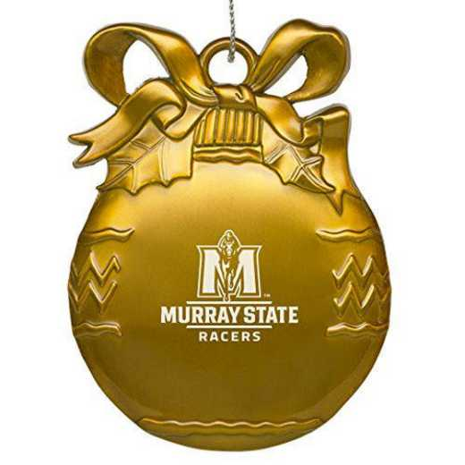 4022GLD-MURRAY-L1-LRG: LXG BULB ORN GOLD, Murray State