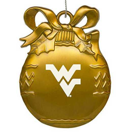 4022-GLD-WESTVA-L1-IND: LXG BULB ORN GOLD, West Virginia