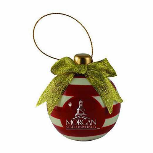 CER-4022-MORGANST-CLC: LXG CERAMIC BALL ORN, Morgan State