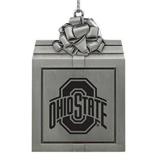 CG-4077-SIL-OHIOST-IND: LXG PRESENTS ORN SILV, Ohio State
