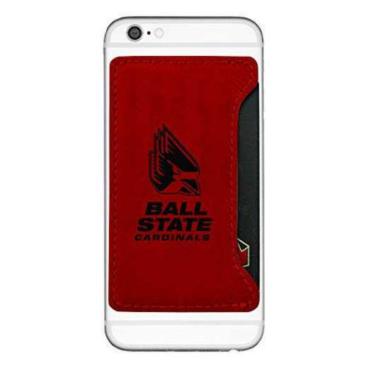 DG-402-RED-BALLST-LEARFIELD: LXG CP HOL RED, Ball State