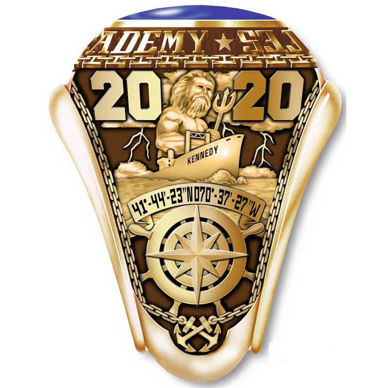Massachusetts Maritime Academy 2020 Men's Traditional Ring