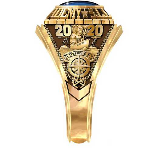 Massachusetts Maritime Academy 2020 Women's Traditional Ring