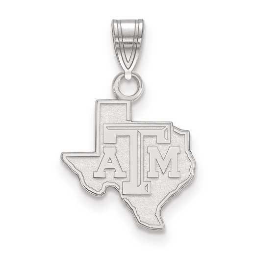 SS041TAM: SS LogoArt Texas A&M University Small PEND