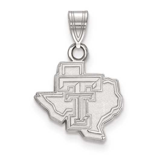 SS044TXT: SS LogoArt Texas Tech University Small PEND