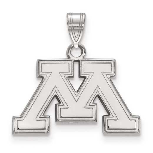 SS016UMN: SS LogoArt University of Minnesota Small PEND