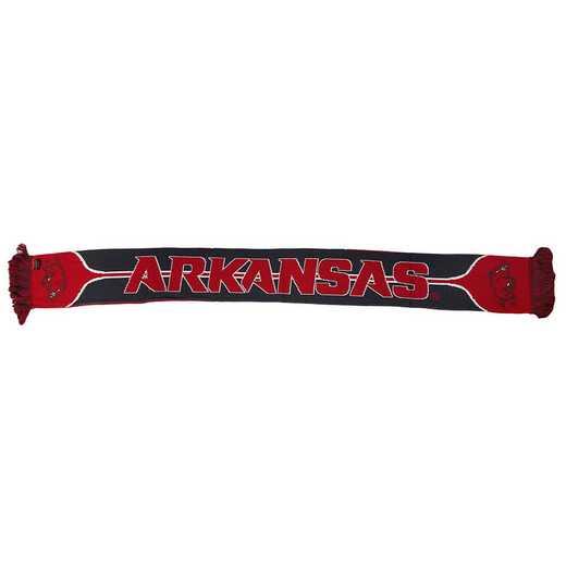 NCAA-ARK-HOG: ARKANSAS RAZORBACKS - HOG SCARF
