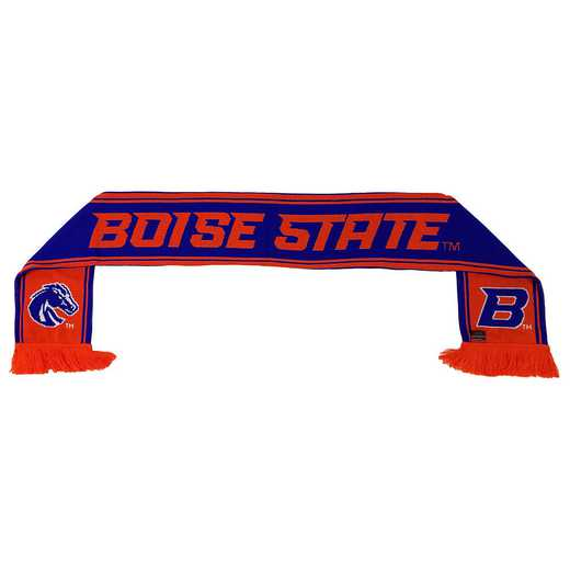 NCAA-BSU-BST: BOISE STATE BRONCOS - BUSTER SCARF