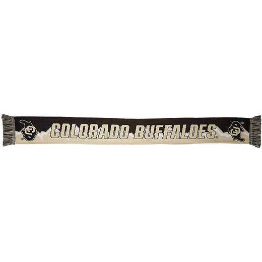 NCAA-COL-MTN: COLORADO BUFFALOES - MOUNTAIN SCARF