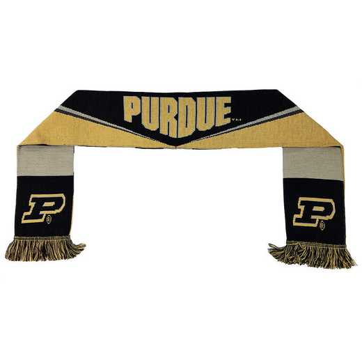 NCAA-PUR-BAR: PURDUE BOILERMAKERS - BAR SCARF