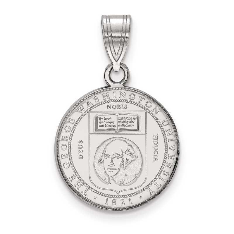 SS007GWU: S S LogoArt The George Washington U Medium Crest Pend