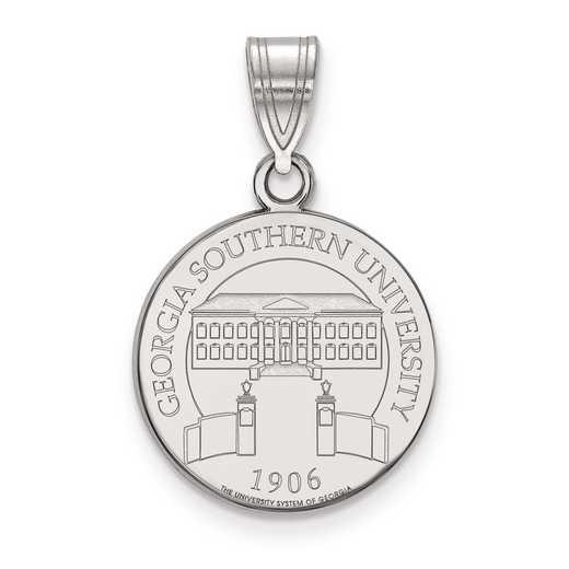 SS007GSU: S S LogoArt Georgia Southern University Medium Crest Pend