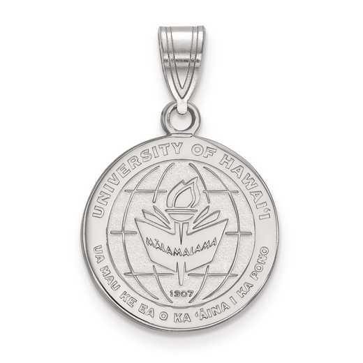SS014UHI: S S LogoArt The University of Hawai'i Medium Crest Pend