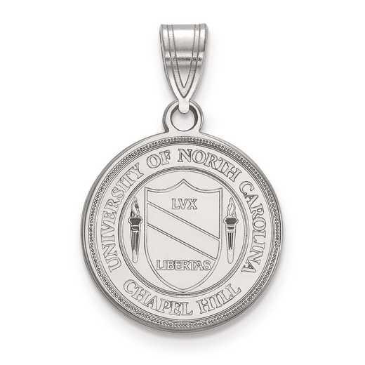 SS057UNC: S S LogoArt University of North Carolina Medium Crest Pend