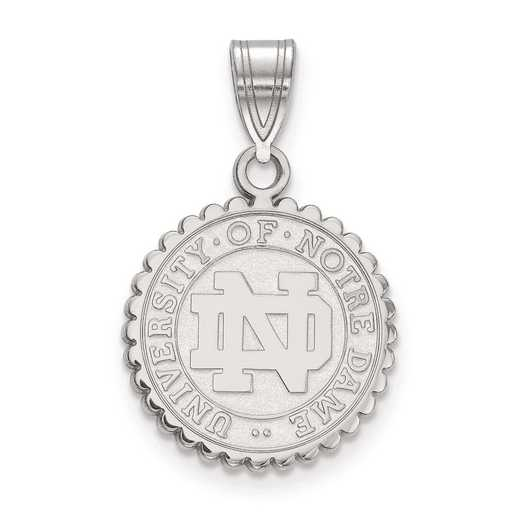 SS066UND: SS LogoArt University of Notre Dame Medium Crest Pend