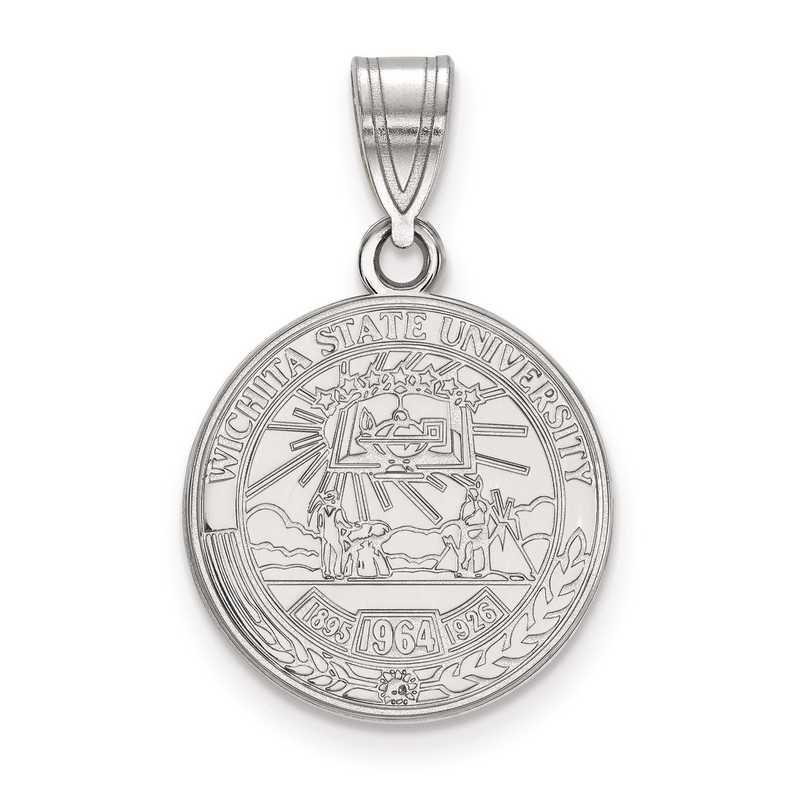 SS018WST: S S LogoArt Wichita State University Medium Crest Pend
