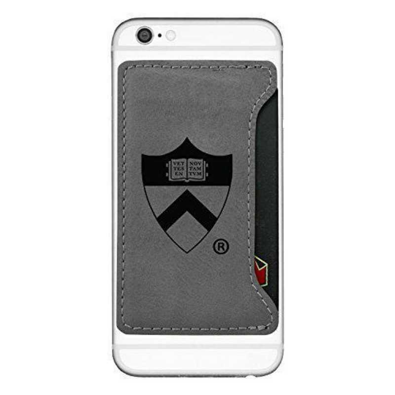 Cell Phone Card Holder >> Princeton University Cell Phone Card Holder Grey