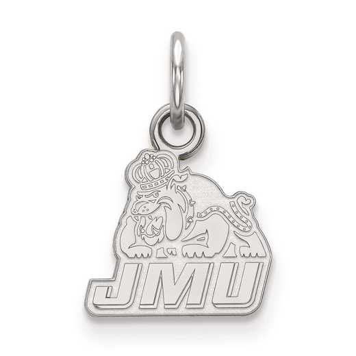 SS001JMU: SS LogoArt James Madison University XS Pendant