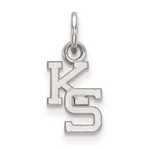 SS043KSU: SS LogoArt Kansas State University XS Pendant