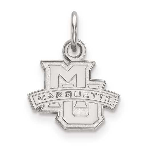 SS001MAR: SS LogoArt Marquette University XS Pendant