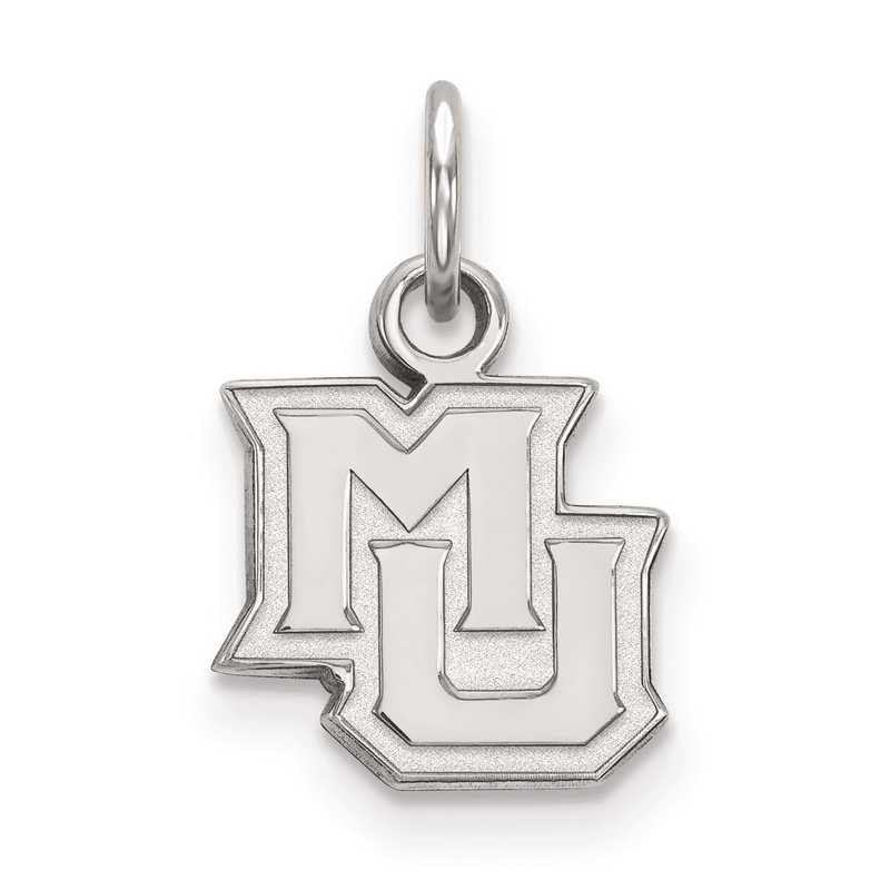 SS014MAR: SS LogoArt Marquette University XS Pendant