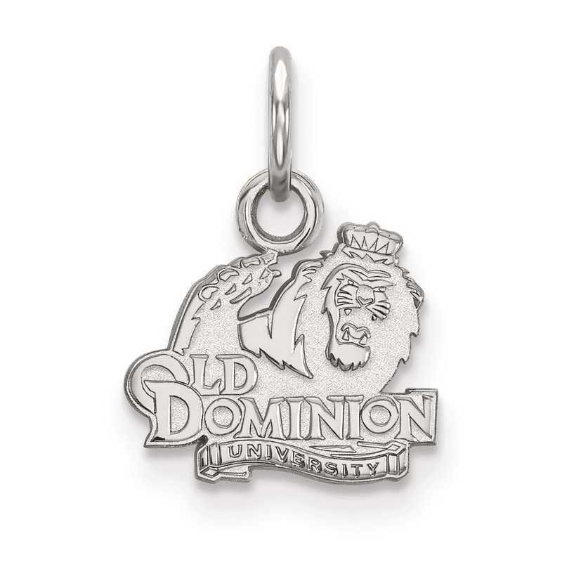 SS001ODU: SS LogoArt Old Dominion University XS Pendant