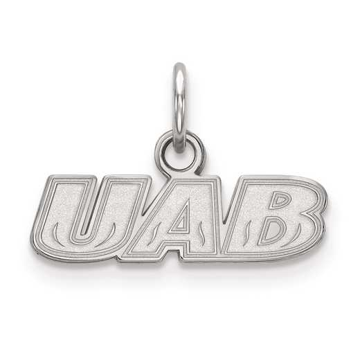 SS008UAB: SS LogoArt University of Alabama at Birmingham XS Pendant