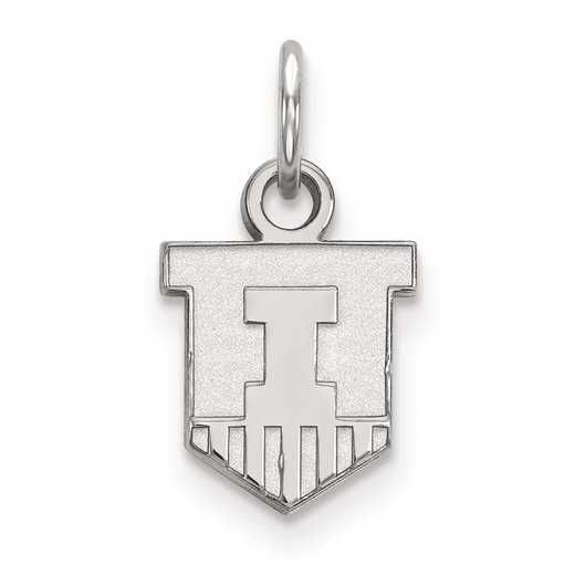 SS043UIL: SS LogoArt University of Illinois XS Pendant