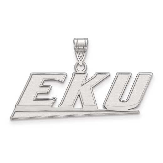 SS003EKU: SS LogoArt Eastern Kentucky University Medium PEND