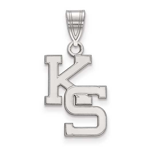 SS045KSU: SS LogoArt Kansas State University Medium PEND
