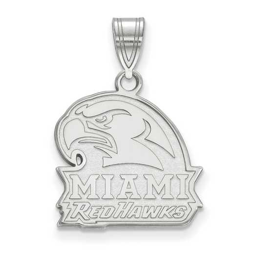 SS021MU: SS LogoArt Miami University Medium PEND