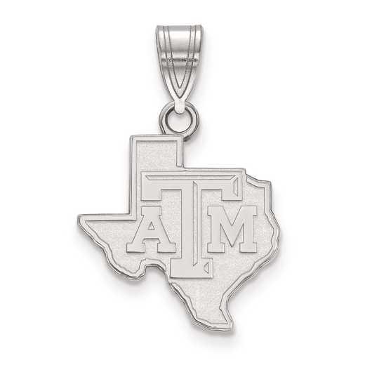 SS042TAM: SS LogoArt Texas A&M University Medium PEND